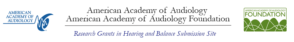 Research Grants in Hearing and Balance Event Banner